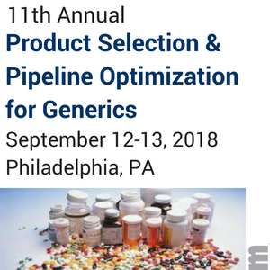 11th Annual Product Selection Pipeline Optimization for Generics marcus evans
